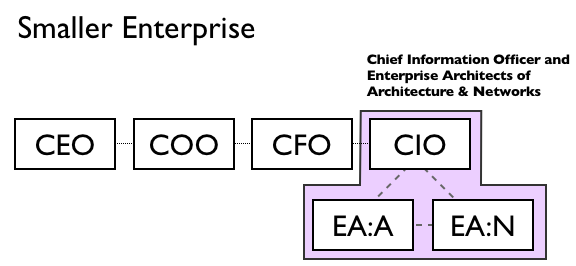 Smaller Enterprise Structure